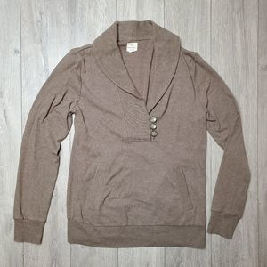 Banana Republic pullover collared sweater Med